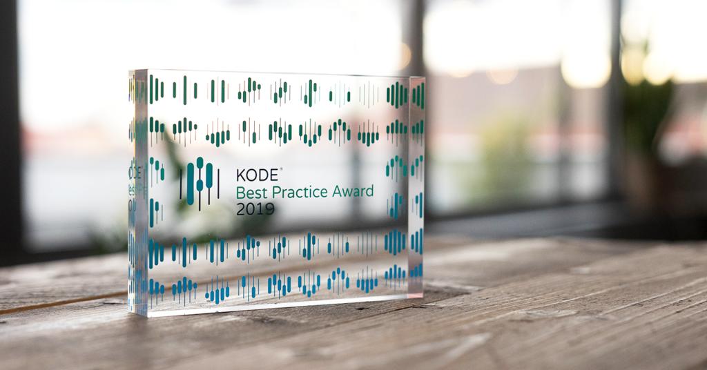 KODE® Best Practice Award