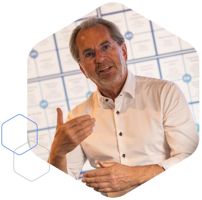Werner Sauter, Leiter des Workshops Werte und Wertemanagement